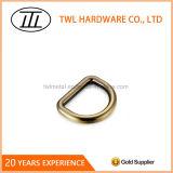 亜鉛合金によってブラシをかけられる旧式な真鍮のDリング