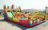 Elaborare gonfiabile della tela incatramata del PVC del giocattolo (CE, COC, UL, SGS, EN14960)