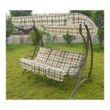 熱い庭の振動椅子をScrollwork立てなさい