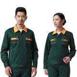 熱い販売の男女兼用のCVC 60/40設計の均一Workwear