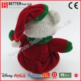 Stuk speelgoed van Kerstmis van de Pluche van de Teddybeer van jonge geitjes het Knuffel Gevulde Zachte
