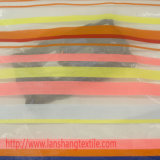 화학 직물에 의하여 염색된 털실 폴리에스테 직물 자카드 직물은 정장 의복, 커튼을%s 직물을 줄무늬로 한다