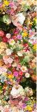 Lenço de seda do teste padrão de flor do OEM para a senhora