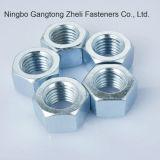 Tuercas hexagonales pesadas GB6170 con el cinc plateado