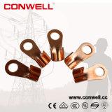 Nariz de cobre feito-à-medida talões do fio elétrico
