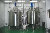 Chauffage et de cuve de mélange à double paroi du réservoir de pression du réservoir
