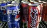 自動缶のコーラまたはソーダ飲料の充填機