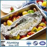 음식을%s 물집 알루미늄 호일 물자 콘테이너
