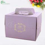 Caja de papel de empaquetado de encargo de la cartulina para la ropa / regalo / joyería / torta / cosmético (KG-PX037)