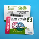 Carte RFID intelligente sans contact HF MIFARE DESFire EV1 4K