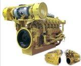 海洋エンジン(810KW-1200KW)の水によって冷却される軽量の低い燃料消費料量シリーズ3000の