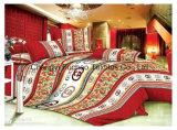 100%年のMicrofiberは寝具セットを印刷した