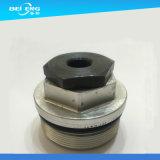 Fabricante feito à máquina CNC personalizado de China do acoplador do tampão da cabeça Ss303 Hex