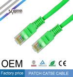 Steckschnür-Kabel des Sipu Plattfisch-Kupfer-RJ45 des Stecker-Cat5e UTP