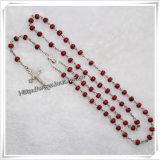 Cheapest Perles de coin en plastique coloré Rosaire avec Saint Graal (IO-CR371)