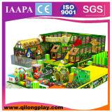 O tema do circo caçoa o campo de jogos interno com associação da esfera (QL-18-5)