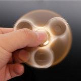 Het gouden Luxueuze Stuk speelgoed van het Metaal van het Reductiemiddel van de Spanning van het Autisme van de Bezorgdheid Adhd friemelt de Spinner van de Hand