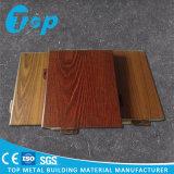 Panel de revestimiento de aluminio de imitación de madera para la decoración del techo