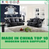 Büro-Möbel-Freizeit-modernes ledernes Sofa-Set