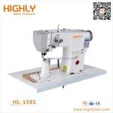 Hl-1591 lit de poste informatisé Heavy Duty Machine à coudre en cuir