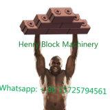 Macchina idraulica del blocchetto del macchinario di costruzione di vibrazione Hr1-10, macchina per fabbricare i mattoni del terreno argilloso