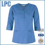 獣医の大広間の美の医学の療法士のヘルスケアの女性の看護婦作業ワイシャツ