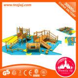 Faciliteiten van de Apparatuur van het Vermaak van de Speelplaats van kinderen de Houten Openlucht voor School