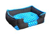 موجة نقطة أسلوب كلب سرير & محبوب سرير