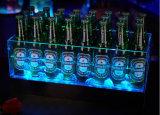 Scatola di presentazione acrilica, benna di ghiaccio delle 12 bottiglie per KTV