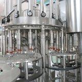 Machine de remplissage de l'eau minérale de qualité dans des bouteilles d'animal familier