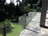 Vidrio de cristal de Proch de la barandilla del balcón del chalet que cerca para Fiji