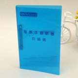 Aduana su carpeta de fichero de la carpeta de anillo de los PP 2 de la talla de la impresión A4