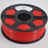 Filamento della stampante dell'ABS 3D di colore rosso 1.75mm 3mm di vendita della fabbrica