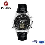 人のための流行の高品質の自動骨組腕時計