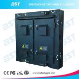 P8 SMD3535 Eisen-/Aluminiumim freienbekanntmachen LED-Bildschirm mit 128dots x 128dots