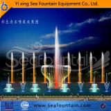 Matériel de conception Seafountain SS304 Lac fontaine flottante
