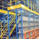 Cremagliera del pavimento dei 2 livelli con il silos di immagazzinamento