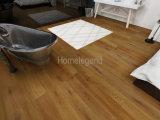 Revêtement de sol en chêne multicouches Plancher de bois naturel et chauffé à l'eau