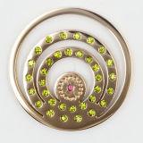 IP nam de Platen van het Muntstuk van het Roestvrij staal van het Gouden Plateren voor de Juwelen van de Manier van de Tegenhanger van het Medaillon toe