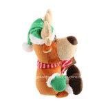 De hete Gevulde Pluche van de Giften van de Herten van Kerstmis van de Verkoop en Zacht Speelgoed