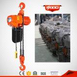 M5 1 grua Chain elétrica da tonelada 3m~20m com contator de Schneider