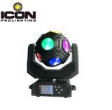 차가운 축구 모양을%s 가진 LED 맨 위 빛을 이동하는 12*20W RGBW 4in1