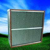 Filtro de aire de alta temperatura del separador HEPA