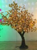 [ي] 18 جيّدة خداع [لد] [كريستمس تر]/عطلة [لد] شجرة/[لد] خارجيّ شجرة ضوء مع 2 سنون كفالة