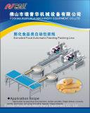 Schwenktisch-Typ automatisches Führen und Verpackungsfließband/System