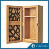 Caja de embalaje de madera personalizada botella de licor (HJ-PWSY02)