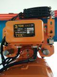 Alzamiento de cadena de 3 toneladas eléctrico con control de pulsador de la protección IP65