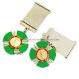Оптовый изготовленный на заказ мягкий значок металла сувенира войны эмали