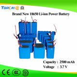 Solarbatterie-China 3.7V 2500mAh Li-Ion18650 Batterie