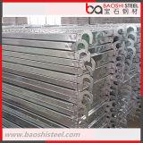 Tablón y prolongación del andén galvanizados del metal para el andamio